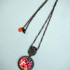 bijou fantaisie à motif japonais